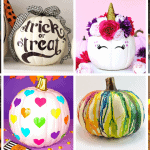 20 Unique No Carve Pumpkin Decorating Ideas