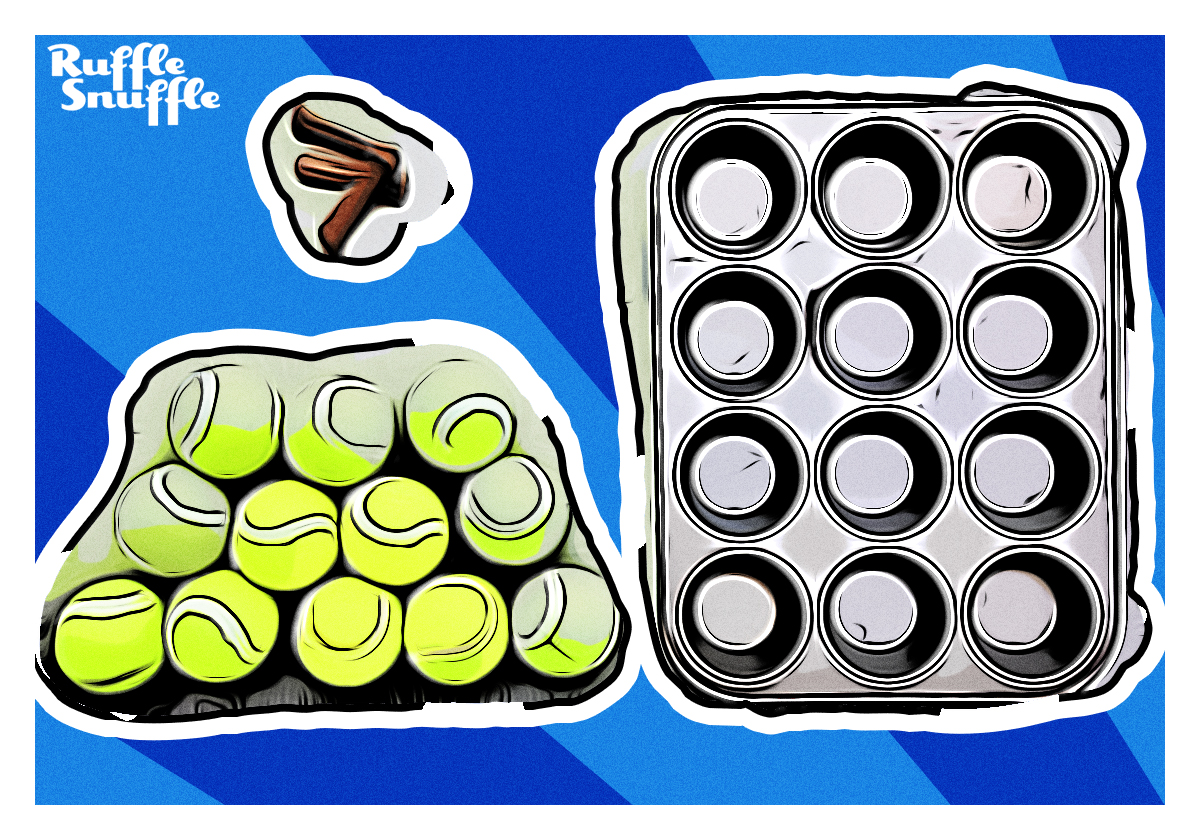 Materials for Muffi Tin Game